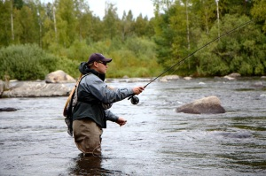 kalastaja äyskoski tervo lohimaa